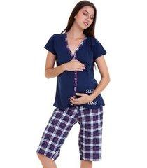 pijama amamentação capri luna cuore