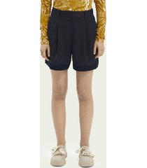 scotch & soda langere nette short