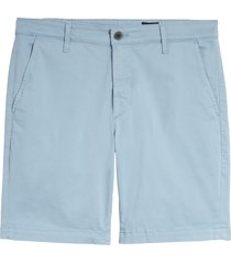 men's ag wanderer modern slim fit shorts, size 35 - blue