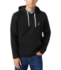nautica men's j-class logo fleece hoodie