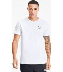 graphic tailored for sport t-shirt voor heren, wit/zwart/aucun, maat s | puma