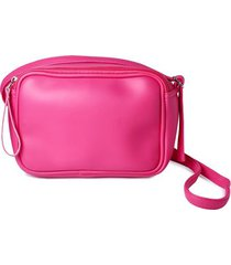 bolso pequeño fucsia color rosado, talla uni