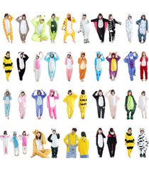 2017  adult unisex kigurumi pajamas animal cosplay costume onesie1 sleepwear