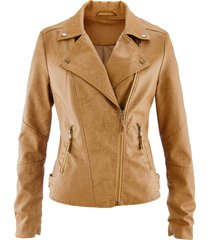 giacca in similpelle (marrone) - bpc bonprix collection