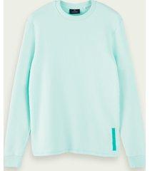 scotch & soda lichte sweater van puur katoen