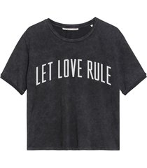 catwalk junkie t-shirt love it dark grey
