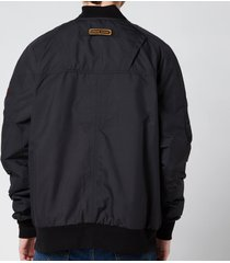 canada goose men's faber bomber jacket - black - xl