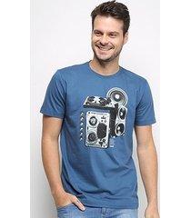 camiseta forum music masculina
