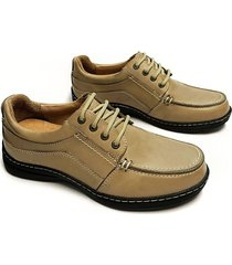 zapato marrón mocassino angolino