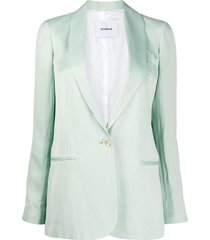dondup relaxed fit blazer - green