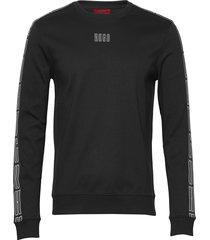doby203 sweat-shirt tröja svart hugo