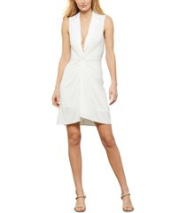 bcbgmaxazria twist-front dress