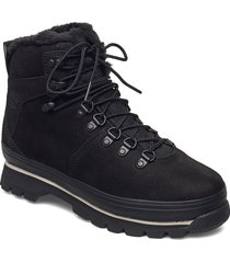 euro hiker wp fur lined shoes boots ankle boots ankle boot - flat svart timberland
