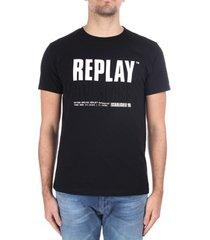 t-shirt korte mouw replay m3413 000 22880