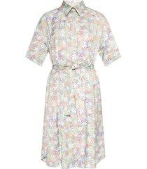 belted-waist dress