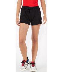shorts in felpa bande laterali