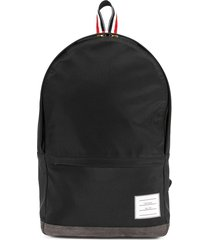 thom browne unstructured backpack - black