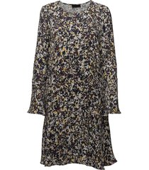2nd dott printed korte jurk bruin 2ndday