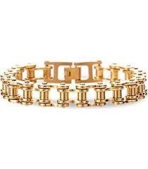 grayson bicycle chain titanium bracelet