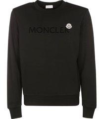 moncler logo patched sweatshirt