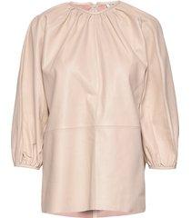 day porto blouse lange mouwen roze day birger et mikkelsen