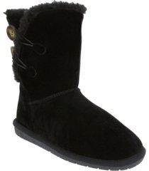 sugar women's marty fuzzy winter booties women's shoes