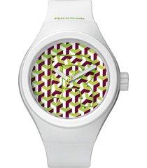 reloj icon neogeo blanco reebok
