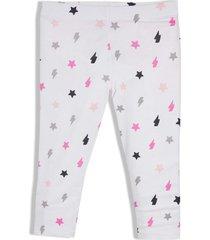 leggings de pijama blanco offcorss