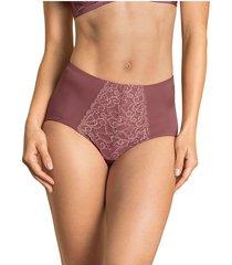 panty panty control suave marrón lumar by leonisa 72221