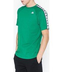 kappa t-shirt s/s banda coen t-shirts & linnen grön