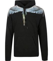 marcelo burlon regular wings hoodie