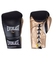 luvas de boxe everlast powerlock com amarração - 14 oz - adulto