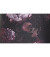 women's vince night garden handkerchief drape skirt, size 14 - black