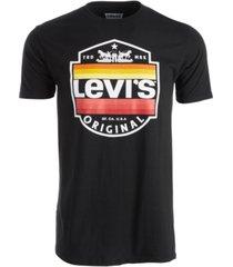 levi's men's shield logo t-shirt