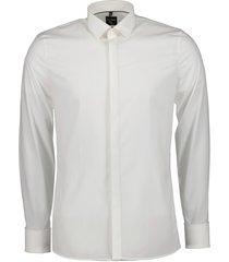 olymp overhemd - body fit - creme