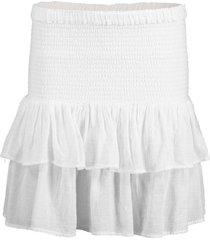 white pixie skirt
