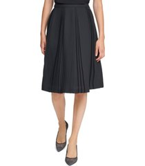 karl lagerfeld paris pleated skirt
