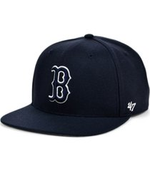 '47 brand boston red sox colors no shot captain cap
