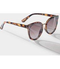 kelli mirrored tortoise sunglasses - tortoise