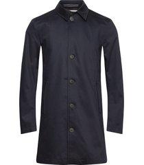 slhnew timeless coat b noos dunne lange jas blauw selected homme