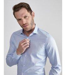 camisa aviator social slim fit camden masculina