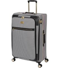 "it girl 32"" prestigious softside semi-expandable spinner suitcase"