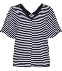 drop top t-shirts & tops short-sleeved blå hope