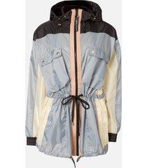 p.e nation women's in bounds jacket - pale blue - l