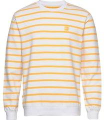 bowie light sweatshirt sweat-shirt tröja gul makia