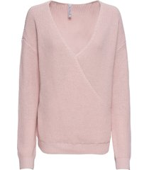 maglione a portafoglio (rosa) - rainbow