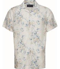 anf mens wovens kortärmad skjorta multi/mönstrad abercrombie & fitch