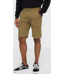 jack & jones jjialfa jjcargo shorts akm 904 shorts ljus brun