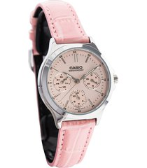 reloj casio ltp-v300l-4a-rosado