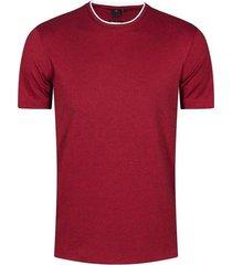 camiseta slim fit con textura para hombre 03776